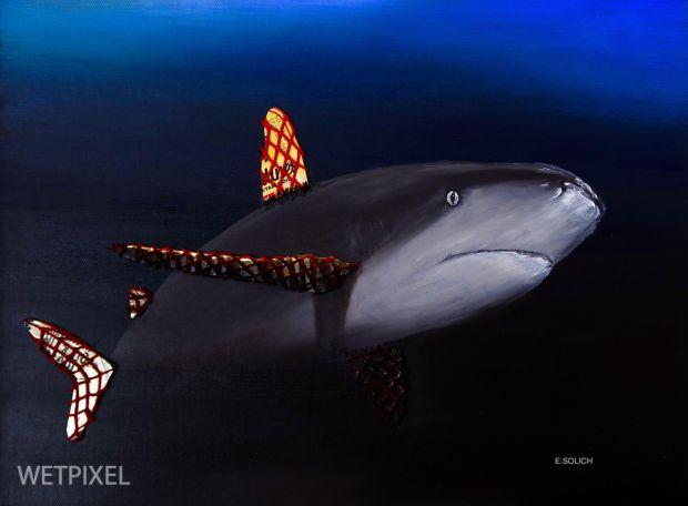 Souped-up shark
