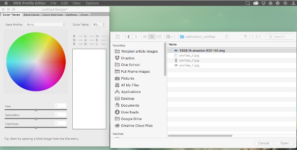 tutorial  creating custom camera calibration profiles in